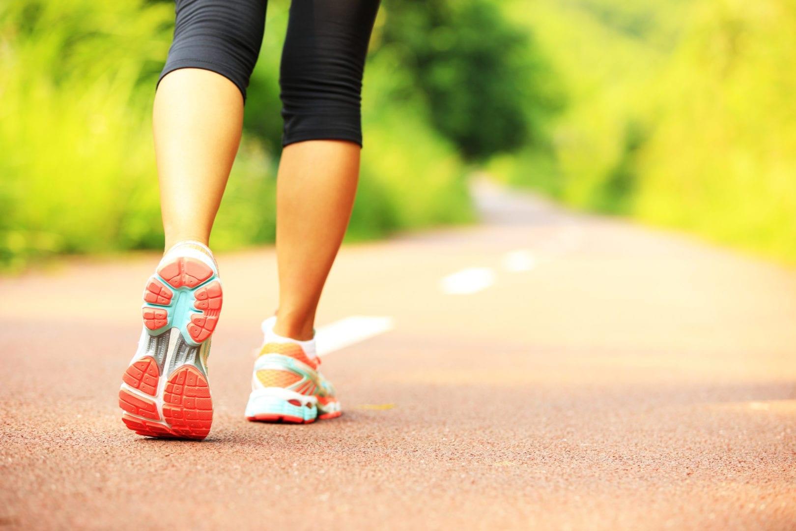 keto workout jogging