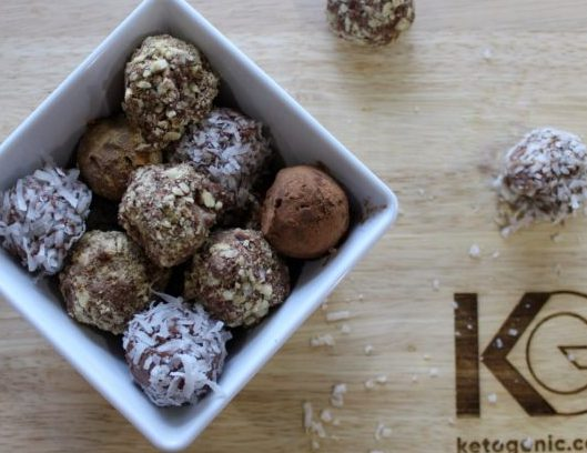 Keto Chocolate Truffles