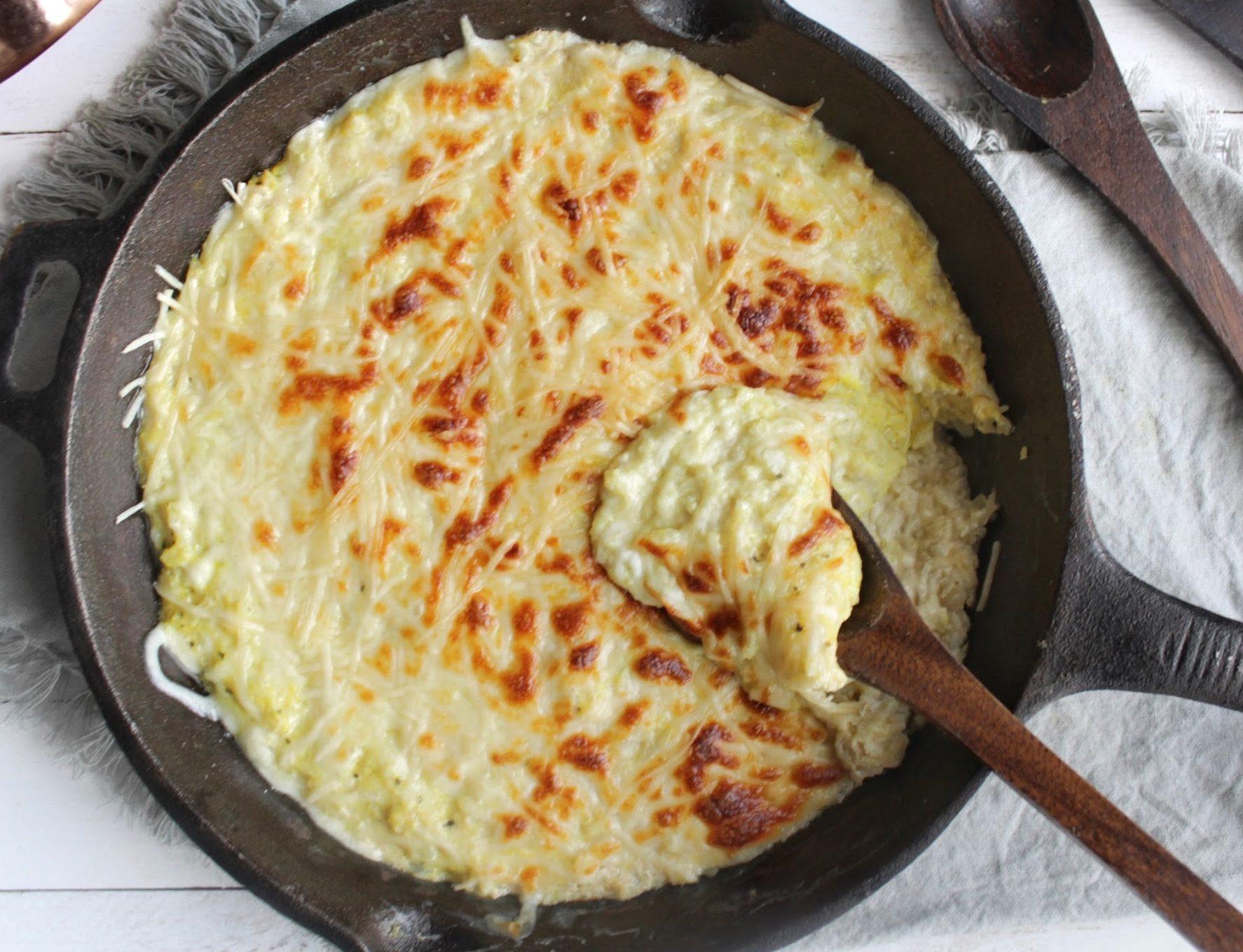 Keto Cauliflower Mac & Cheese