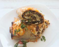 Keto Mexican Burrito