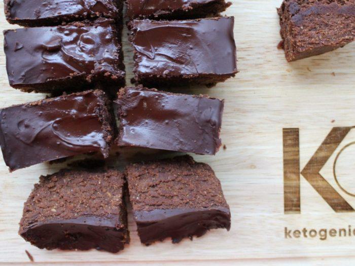 keto no bake brownies