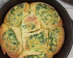 Keto Spinach Rolls