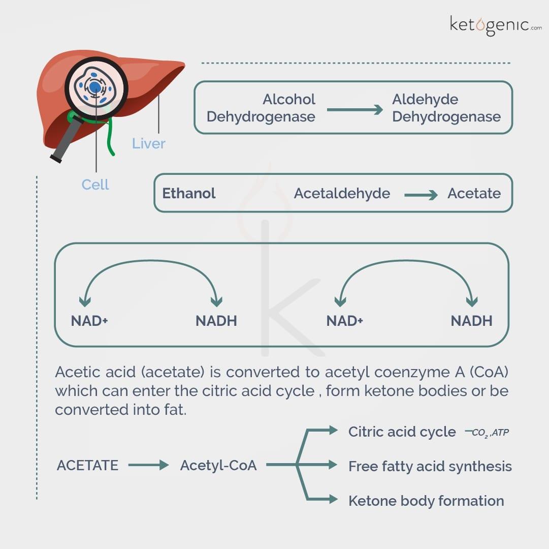 how ketones are made