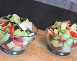 Keto Summer Caprese Salad