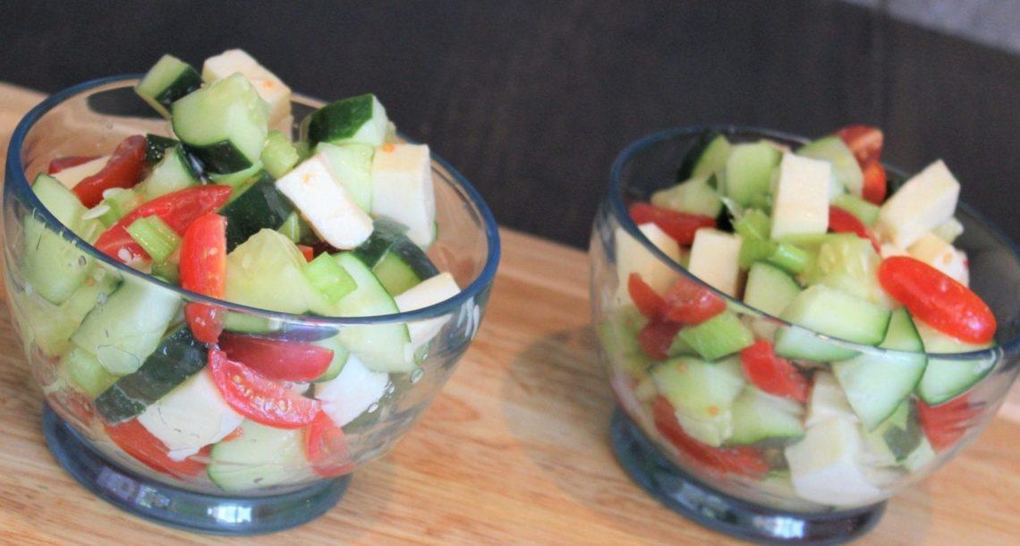 Keto Summer Caprese Salade