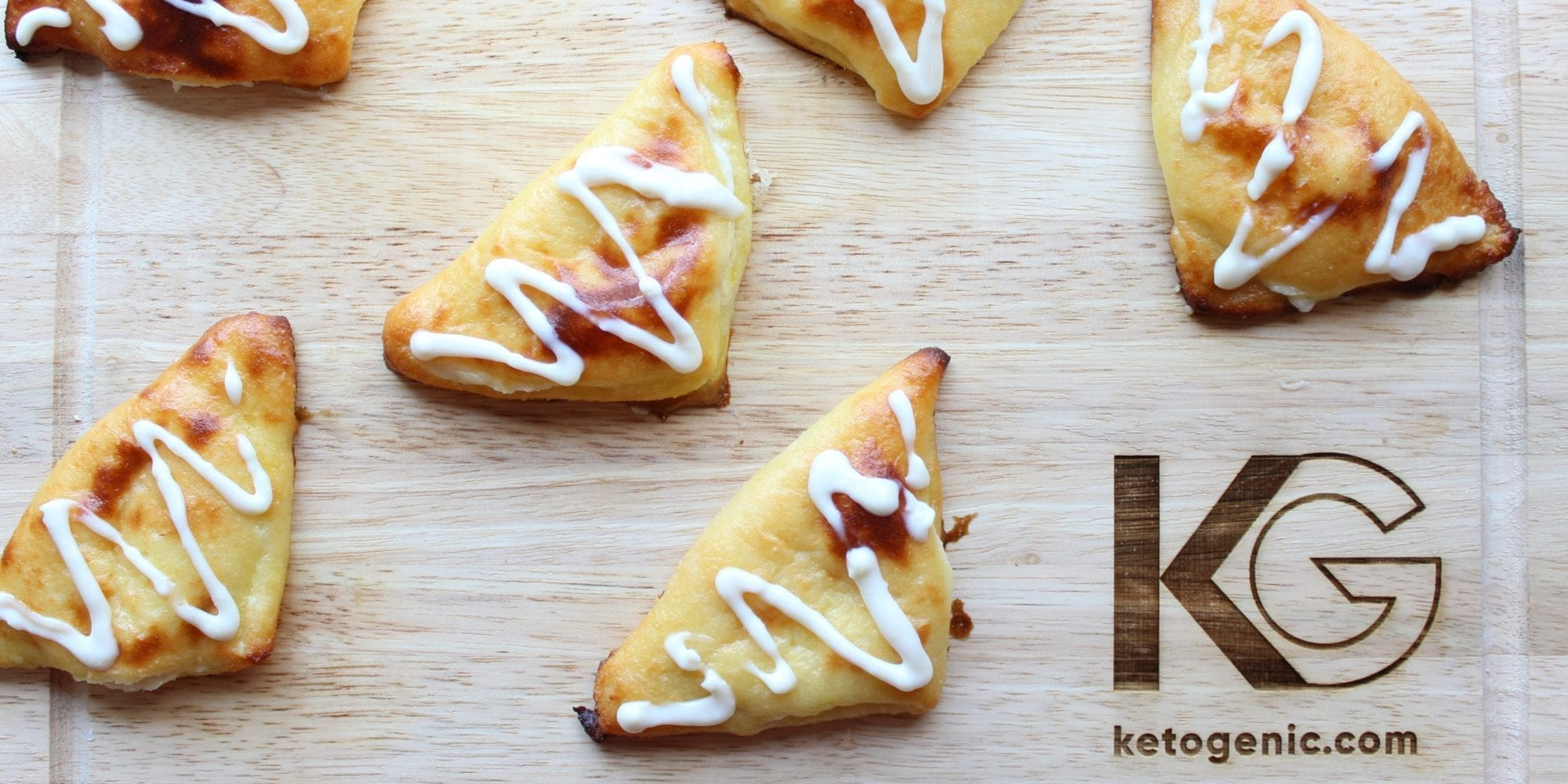 Keto Raspberry Turnovers