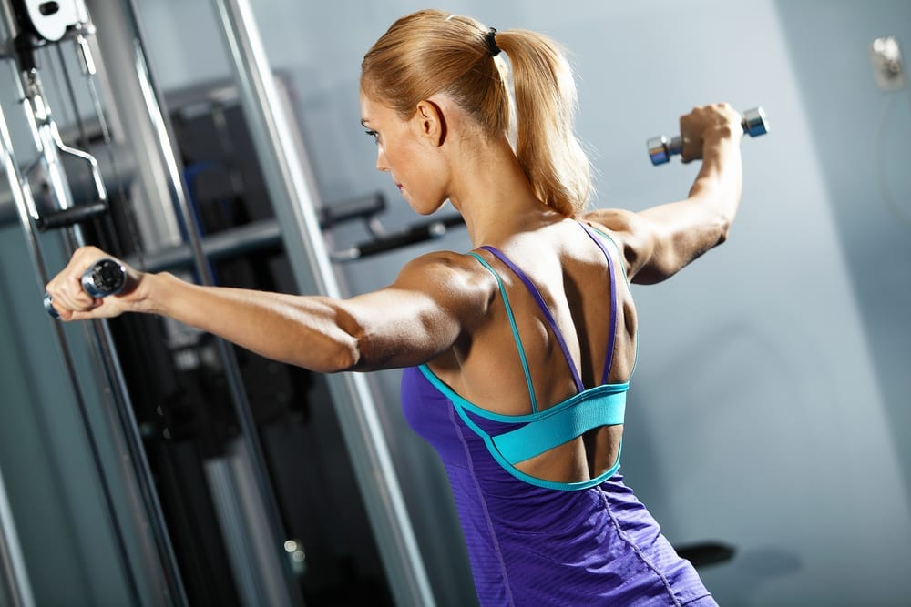 ketogenic diet workout lateral raises