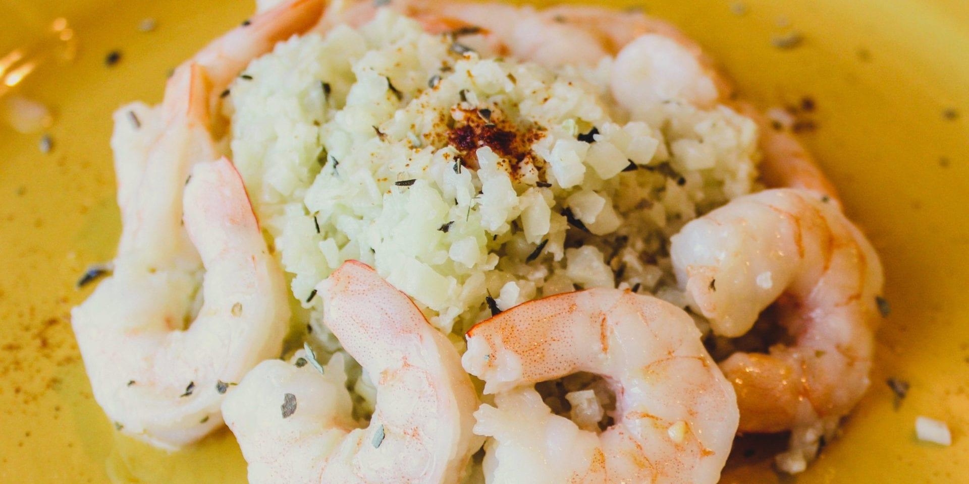 Keto Garlic Shrimp