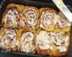 Keto Coffee Cinnamon Rolls