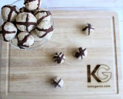 Keto Nutty Cheesecake Balls