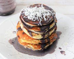 Keto Blueberries Pancakes