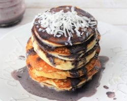 Keto Blueberries Pancakes