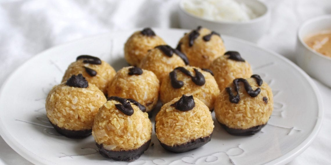 Keto Peanut Butter Protein Macaroons