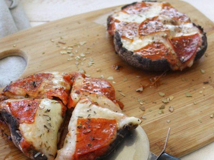 Keto Portobello Mushroom Pizza (1)