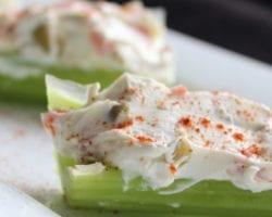 Keto Stuffed Celery