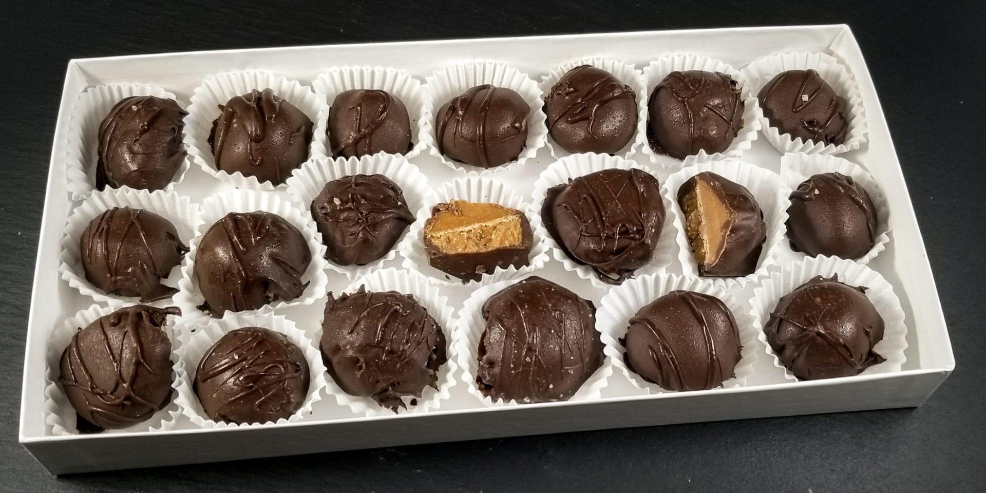 Keto Peanut Butter Chocolates