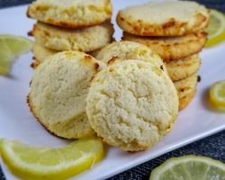 Keto Lemon Ricotta Cookies