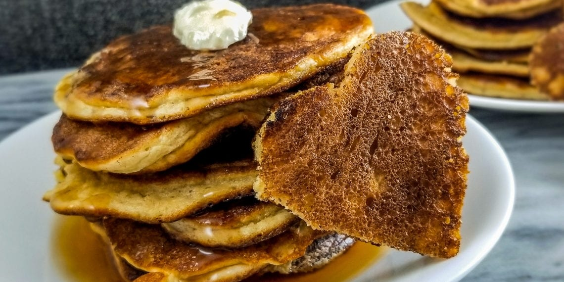 Keto Apple Spice Pancakes