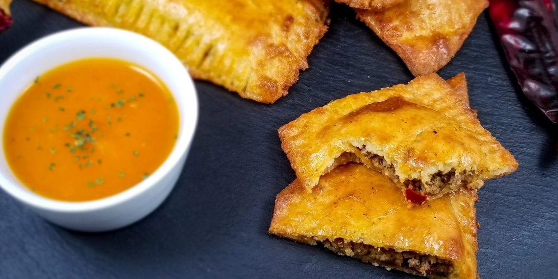 Keto Jamaican-Style Spicy Beef Patties
