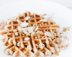 Keto Cinnamon Waffles