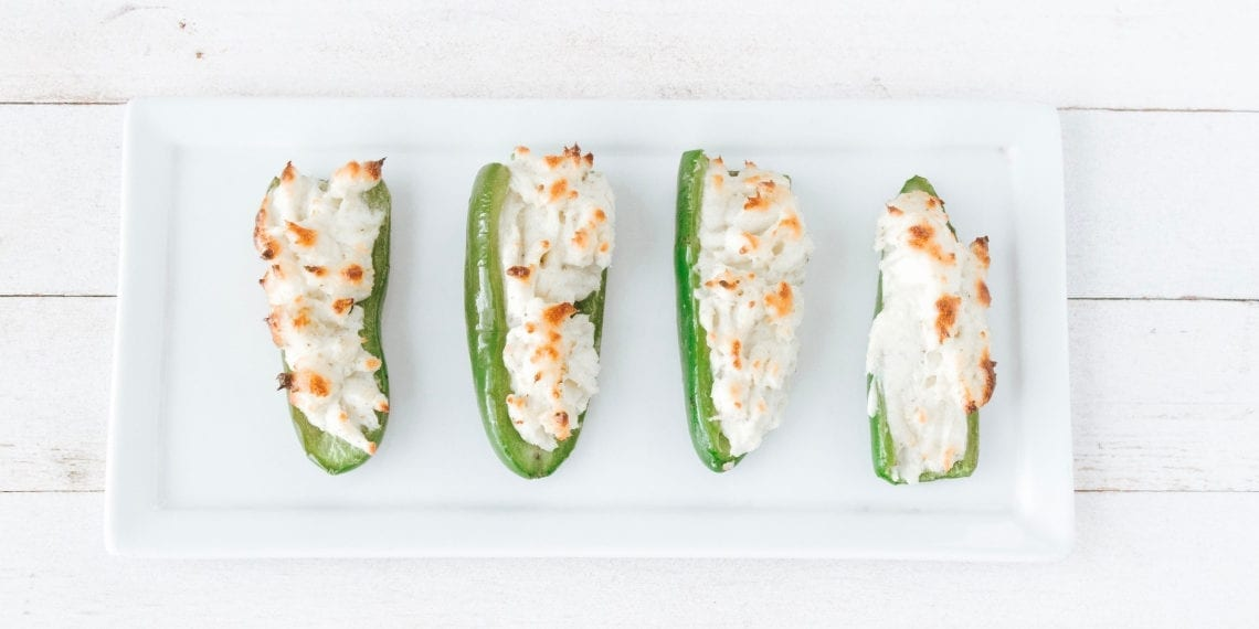 Keto Cream Cheese Jalapeno Poppers