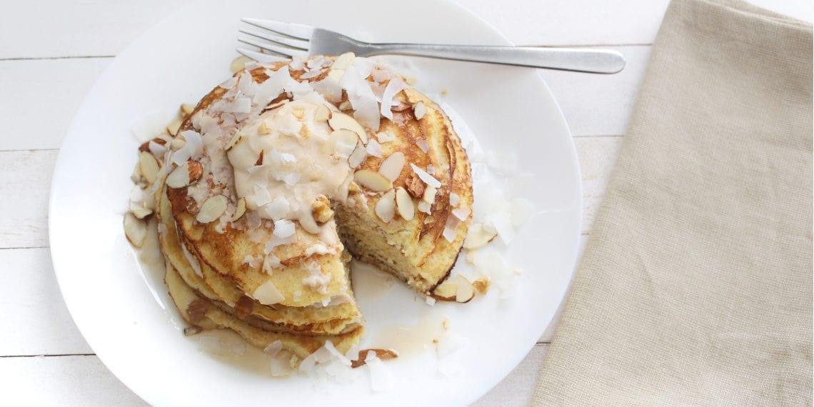 Keto Lemon Pancakes