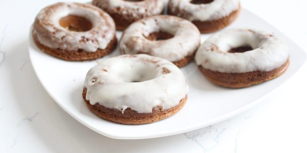 Keto Glazed Doughnuts