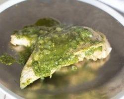Keto Pesto Chicken