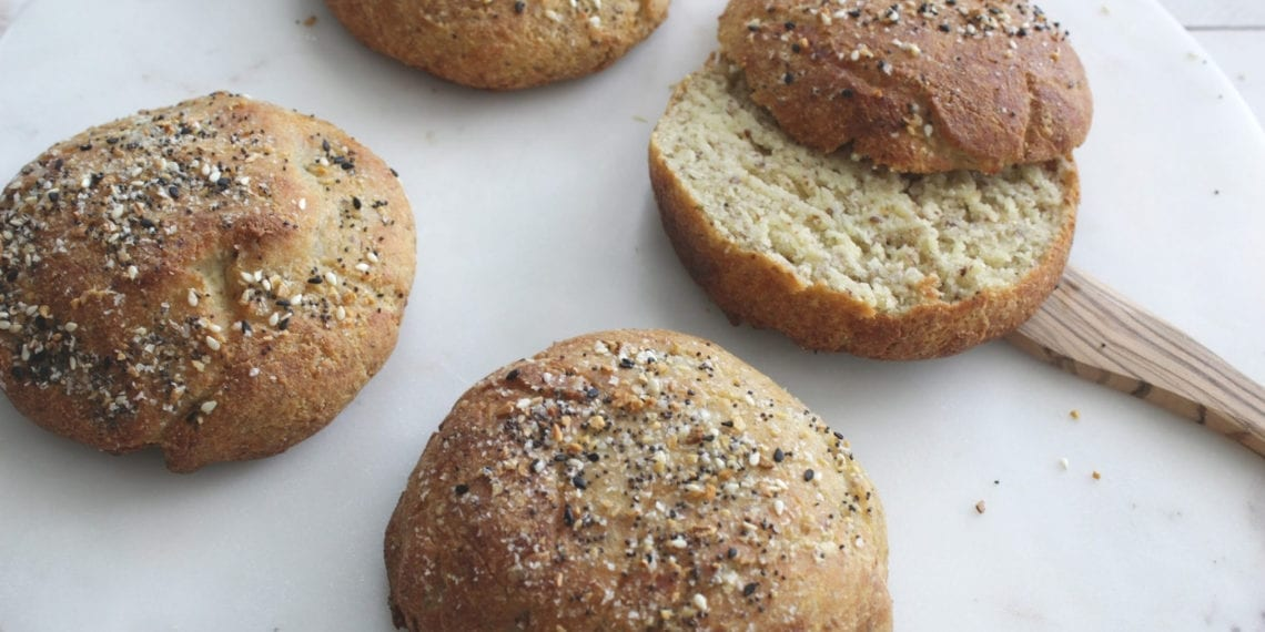 Keto Coconut Flour Hamburger Buns