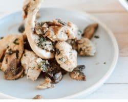 Keto Chicken Mushroom