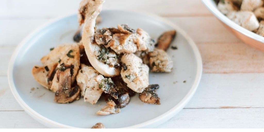 Keto Mushroom Chicken