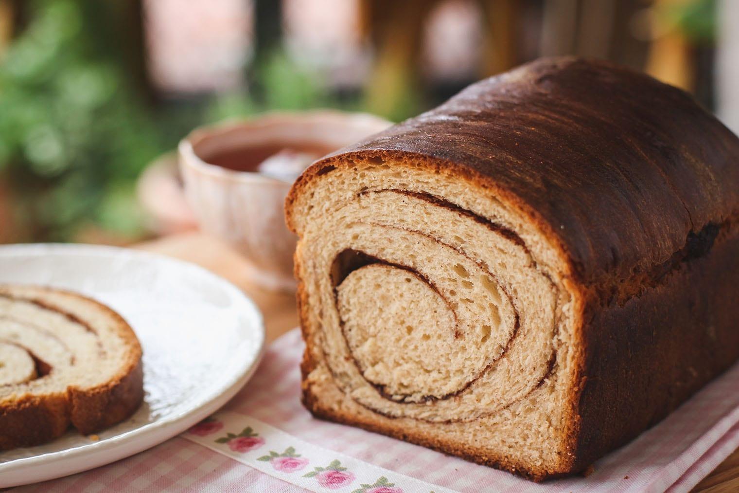 Keto Cinnamon Swirl Bread