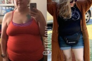 ketosony and her weight loss transformation on keto