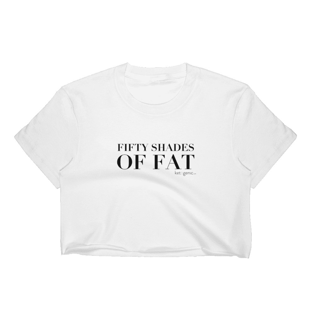 fb1403c3 Fifty Shades Of Fat Women's Crop Top