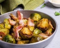 Keto Brussels Sprouts and Bacon