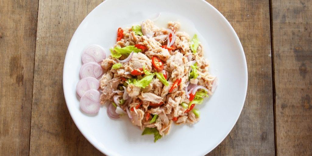 Keto Fresh Tuna Salad