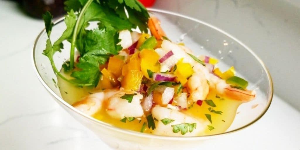 Keto Shrimp Ceviche