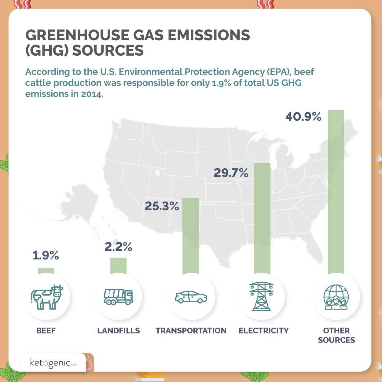 environmental impact of eating meat statistics