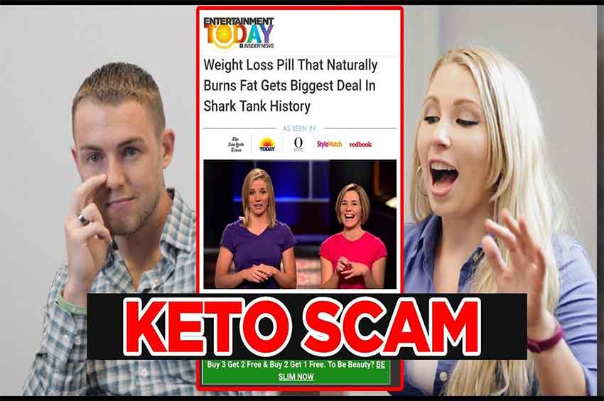 does shark tank endorse keto diet