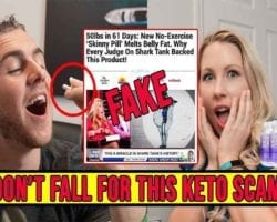 Spotting A Keto Scam: Uncovering the Shark Tank Keto Scam Scandal