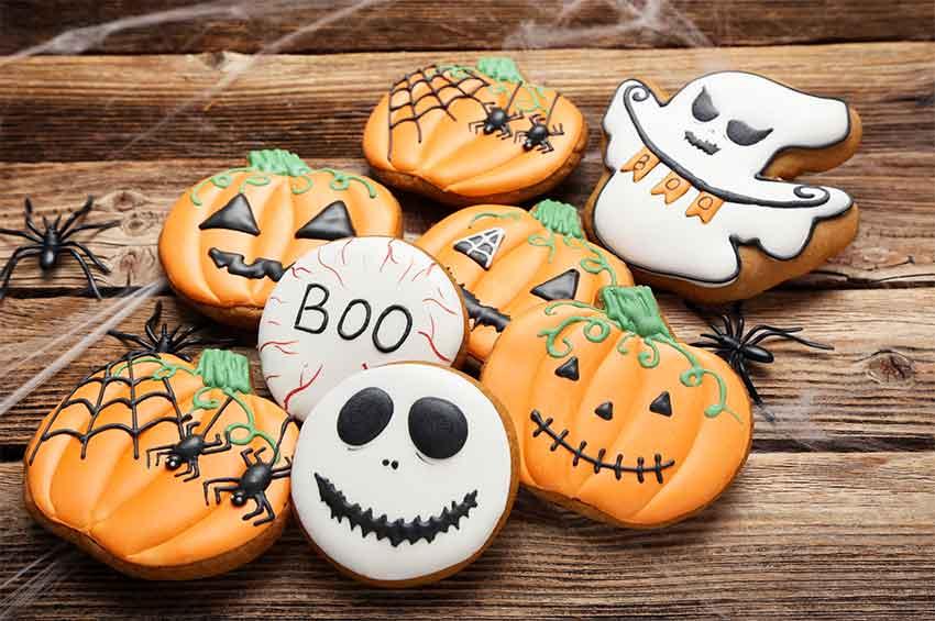 halloween keto cookies