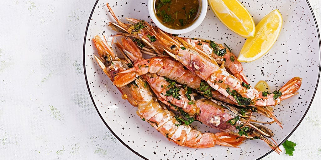 Keto Lemon Garlic Shrimp