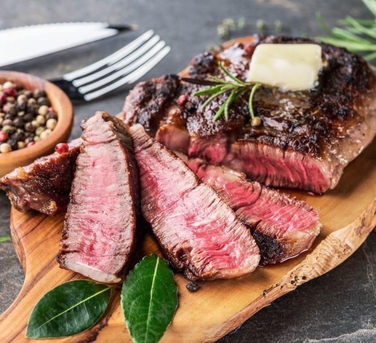 Keto Sizzling Garlic Butter Steak