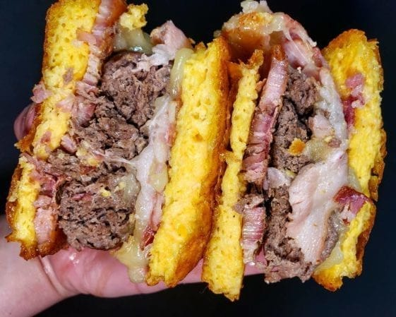 carnivore keto burger