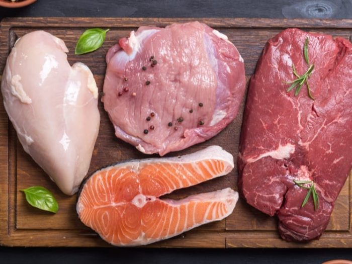 Different types of meats/ protein on keto