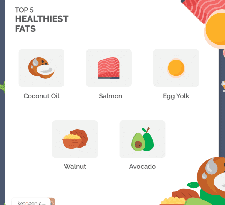 5 Healthiest Keto Fat Sources