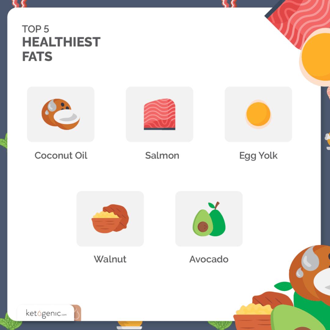 5 Healthiest Keto Fat Sources