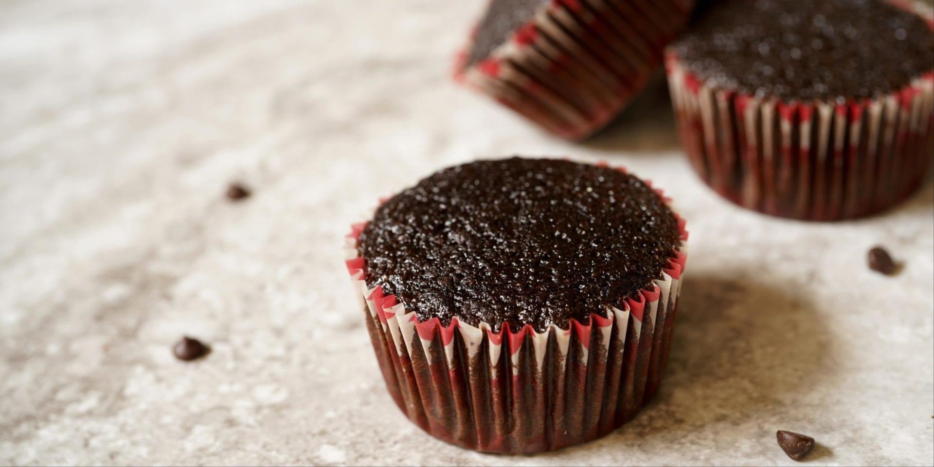 decadent keto chocolate cupcakes