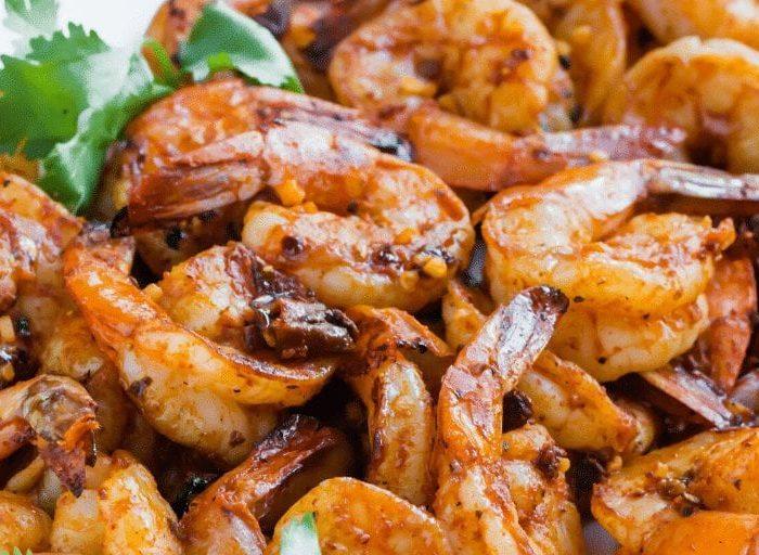 keto firecracker shrimp