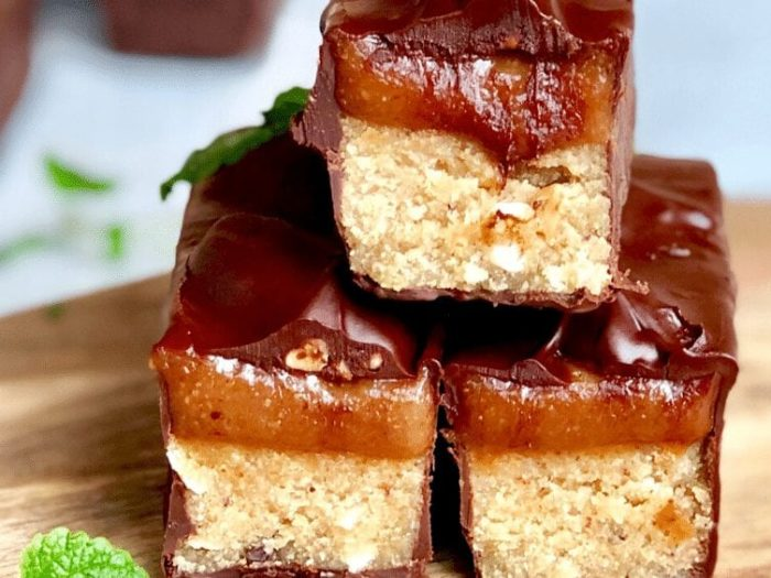 cookie dough keto snickers bar